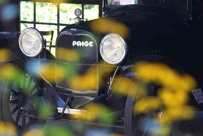 武相荘の車