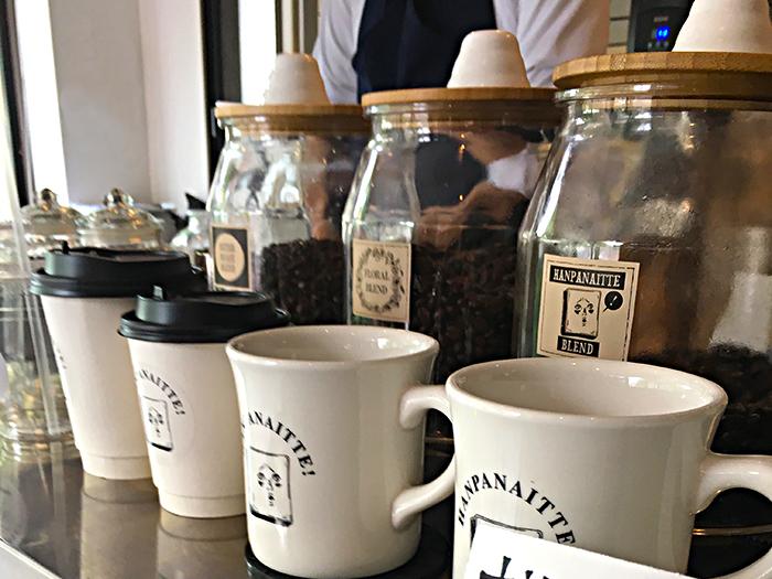 半端ないカフェのコーヒー