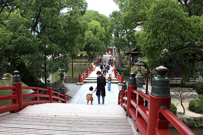 太宰府天満宮の橋