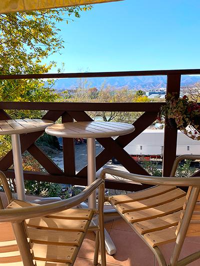 南蛮屋ガーデンのカフェ