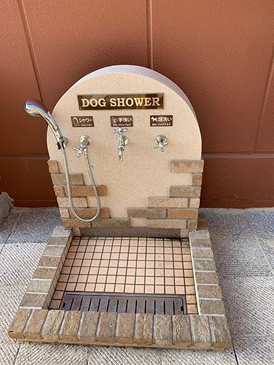 ペットシャワー
