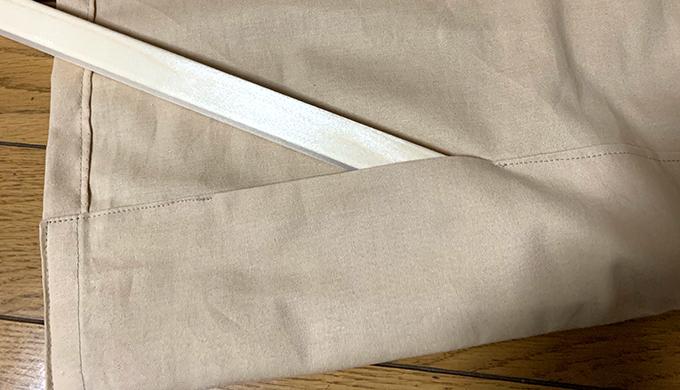 シェードカーテンの作り方