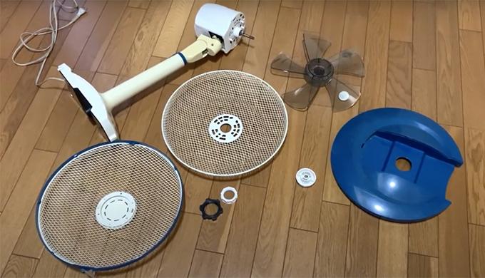 扇風機のリメイク
